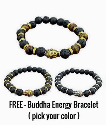 "Bracelets - ""FREE"" Buddha Energy Bracelet ( Pick Your Color )"