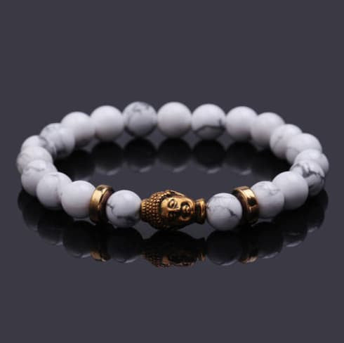"Bracelets - ""FREE""  Golden Buddha Head Energy Bracelet ( Just Pay Shipping )"