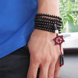 Bracelets - FREE - Sandalwood Buddha Meditation Prayer Beads
