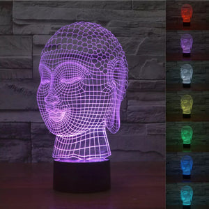 Buddha 3D LED Night Light