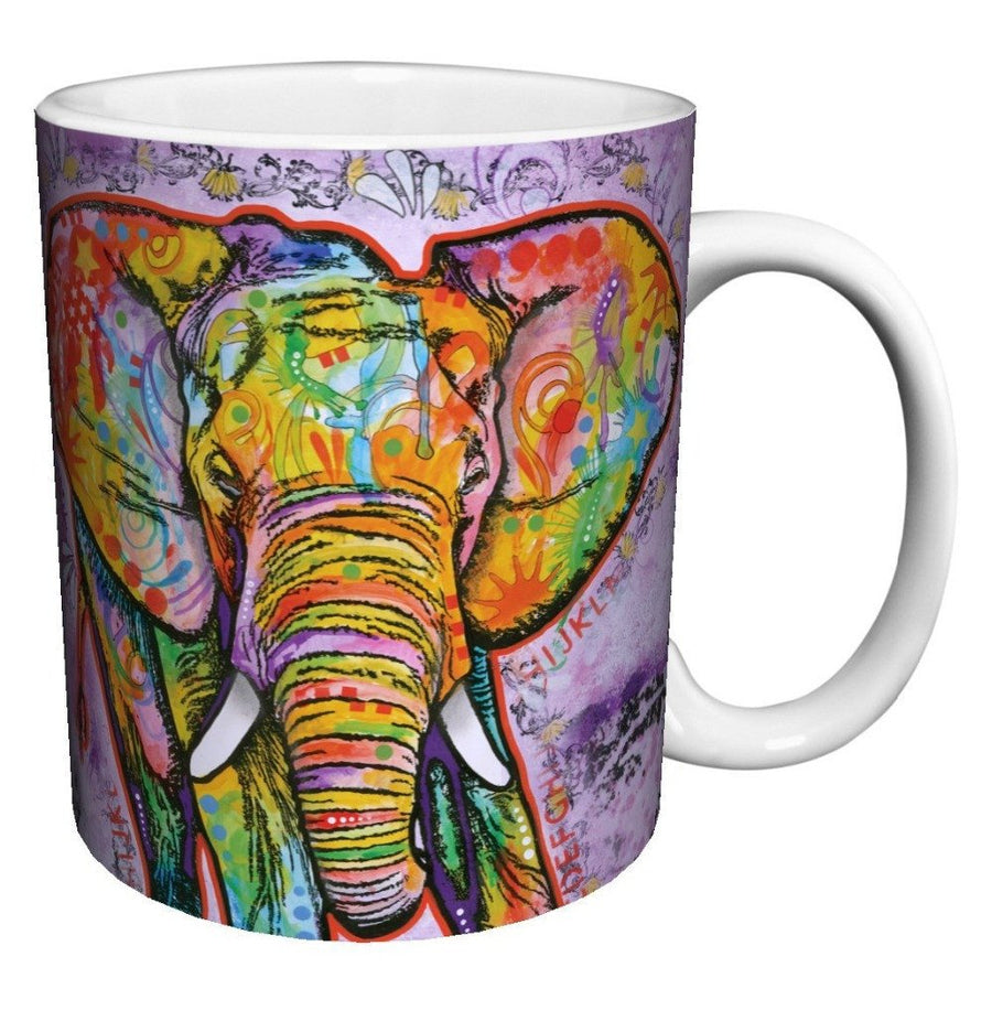 Elephant Lovers - Good Vibes Elephant Coffee Mug