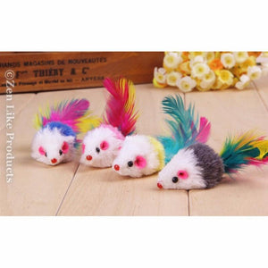 """FREE"" Feather And Mouse For Cats ( Just Pay Shipping )"
