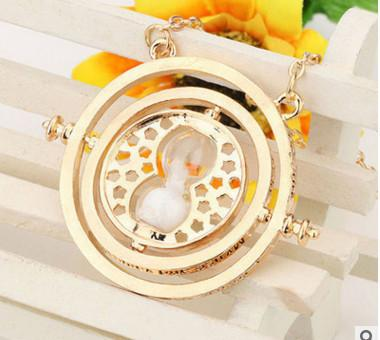 """FREE"" Hermione Granger Rotating Time Turner Necklace"