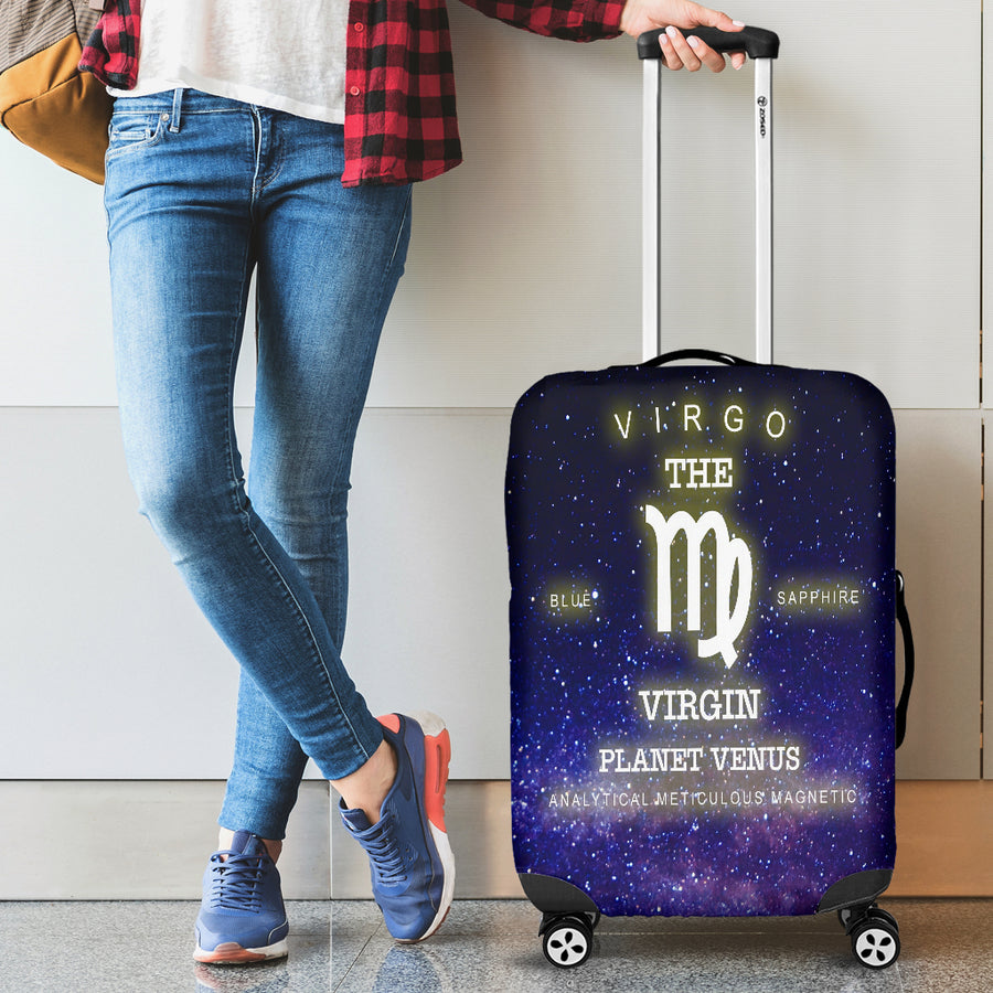 NP Zodiac Virgo Luggage Cover