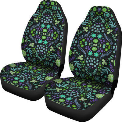 Indian Tribal Purple Car Seat Covers