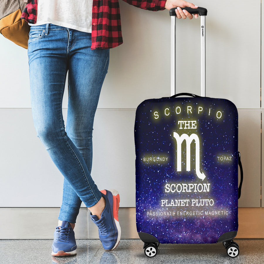 NP Zodiac Scorpio Luggage Cover