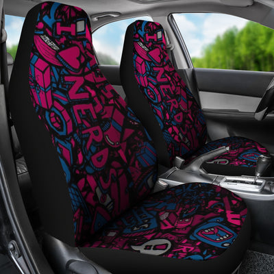 I Love Nerds Car Seat Covers
