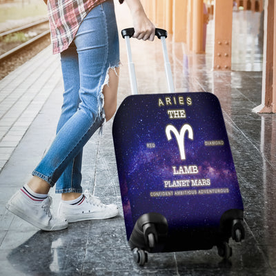 NP Zodiac Aries Luggage Cover