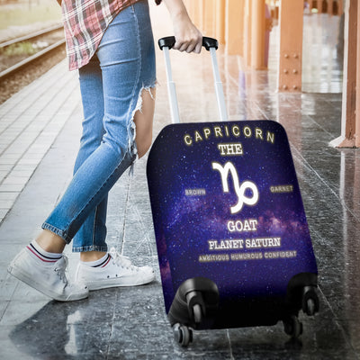 NP Zodiac Capricorn Luggage Cover