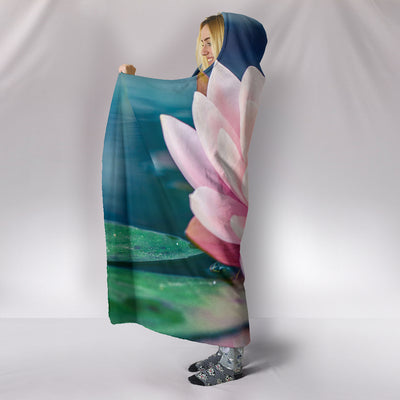 Lotus 5 Hooded Blanket