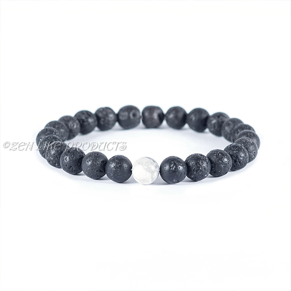 MOONLIGHT BLACK DIFFUSER BRACELET