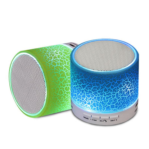 LED Portable Bluetooth Wireless Speakers