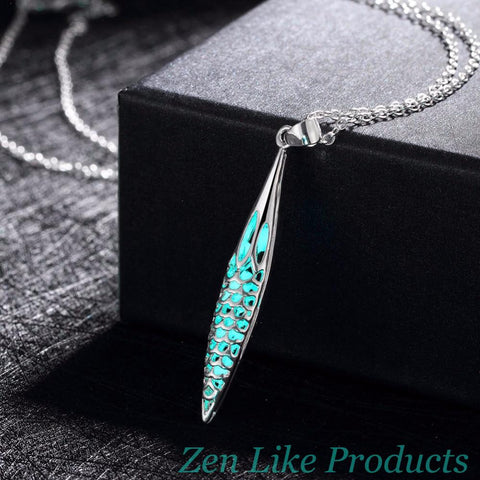 Magic Glowing Mermaid Scales Necklace