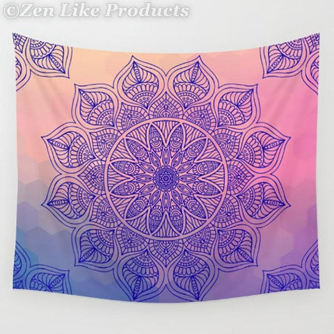 Mandala Beach Blanket - Colorful Beach Blanket