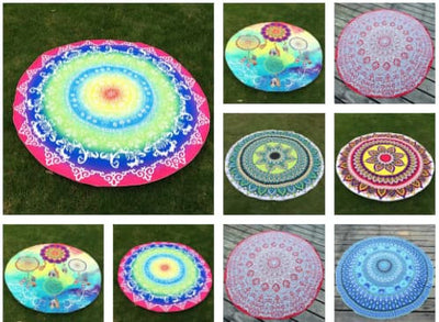 Mandala Beach Blanket - Mandala Beach/Yoga Blankets ( NEW 2017 For The SUMMER TIME!! )