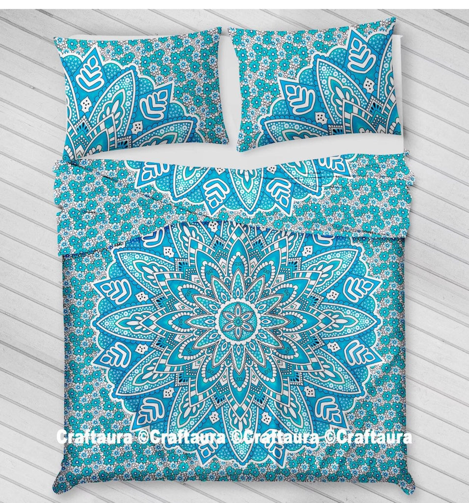 Mandala Beach Blanket - Mandala Bed Set
