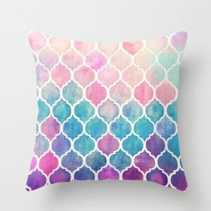 Mandala Beach Blanket - Mandala Cushion Cushion Cover