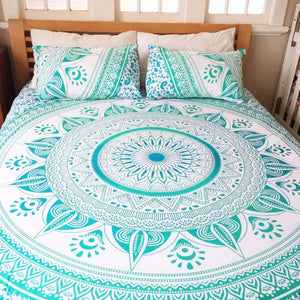 Mandala Beach Blanket - Mandala Queen Bed Cover