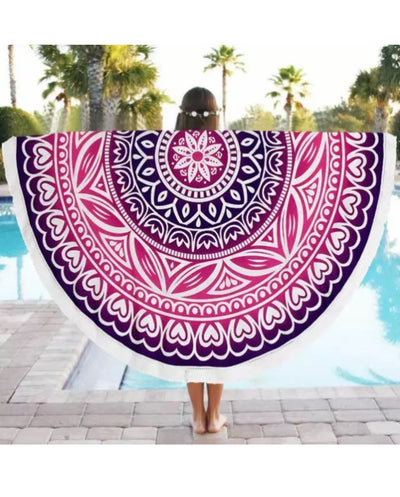Mandala Beach Blanket - New Mandala Beach Blanket