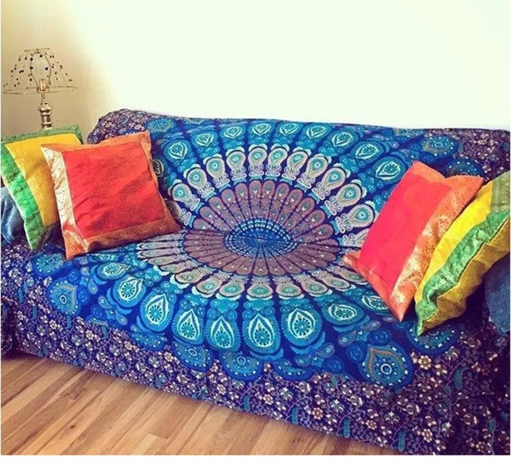 Mandala Beach Blanket   New Mandala Sofa Cover