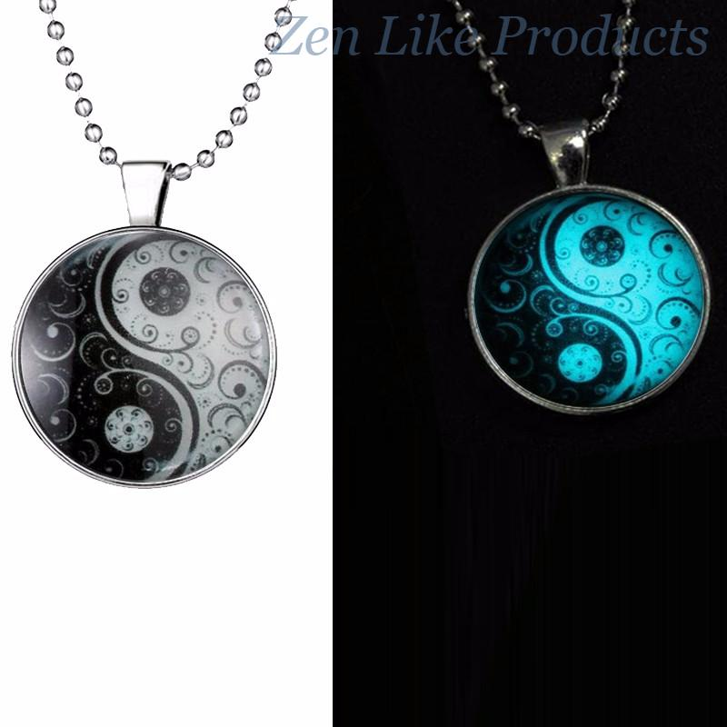 Mood Tracker YinYang Necklace