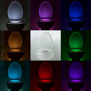 Motion Sensor Toilet Seat  Light