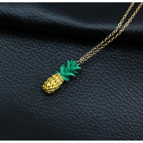 Necklaces - New 3D Pineapple Necklace
