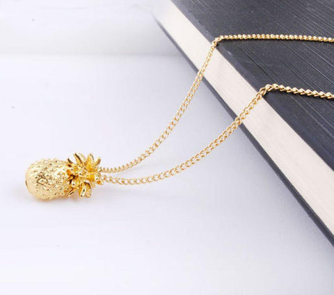 Necklaces - Pineapple Charm Necklace