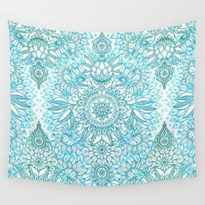 NEW 2017 FLOWER MANDALA YOGA/BEACH BLANKETS