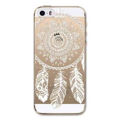 "Phone Case - ""Free"" Henna Mandala Floral IPhone Case"