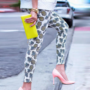 Pineapple Print Leggings