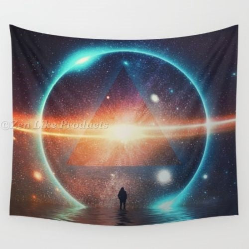 Space Walk Beach/Yoga Blanket