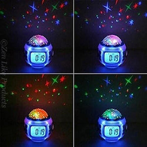 Star Led Light Music Alarm