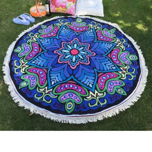 Tapestries - Round Mandala Beach/Yoga Blanket