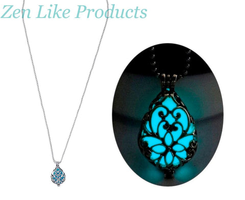 Water Droplets Necklace