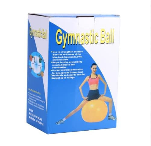 Yoga Products - Yoga Ball With Foot Pump Included