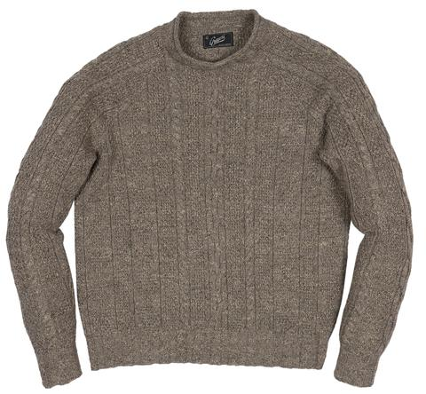 Roll Neck Sweater | Oatmeal