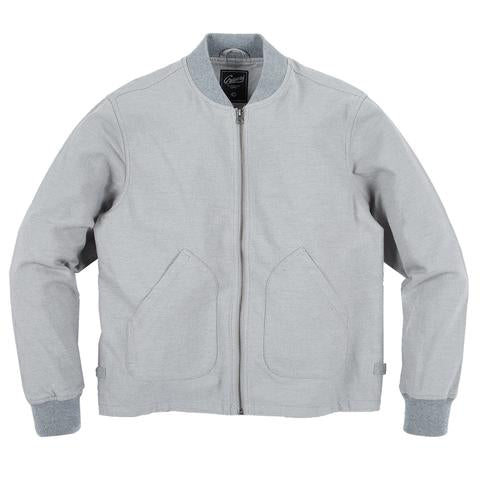 Bomber Jacket | Grey Heather