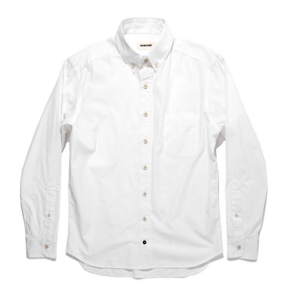 The Jack | White Washed Poplin