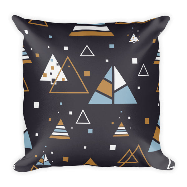 Pyramid pattern Square Pillow