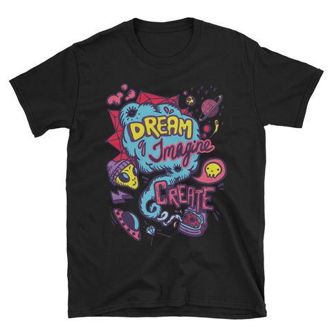 Dream Imagine Create Ufo Tee