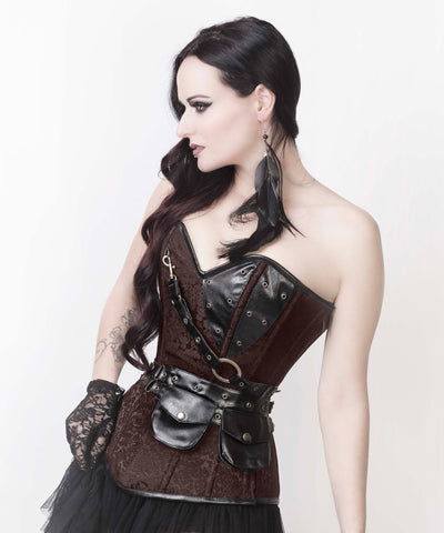 Liz Steampunk Custom Made Corset