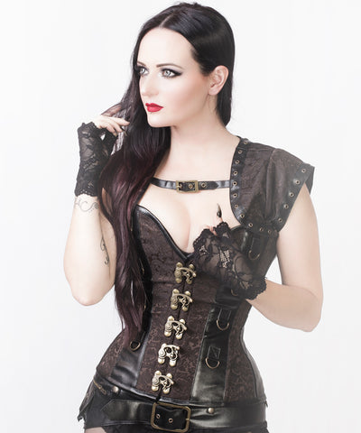 Reyna Steampunk Custom Made Corset