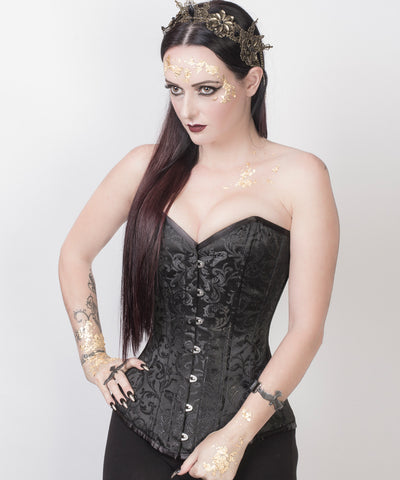 Haady Black Custom Made Corset