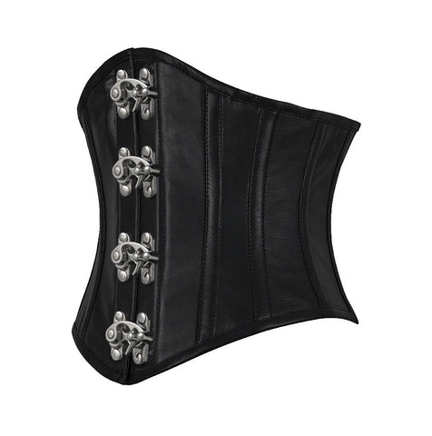 Farika Genuine Sheep Napa Leather Custom Made Corset