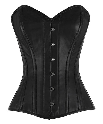 Carna Genuine Sheep Napa Leather Corset
