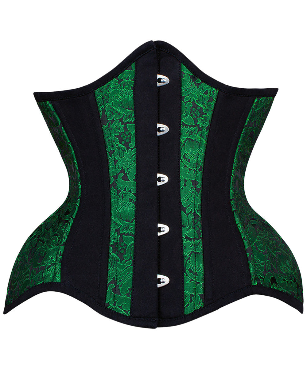 Hettie New Curvy Waist Training Corset in Brocade