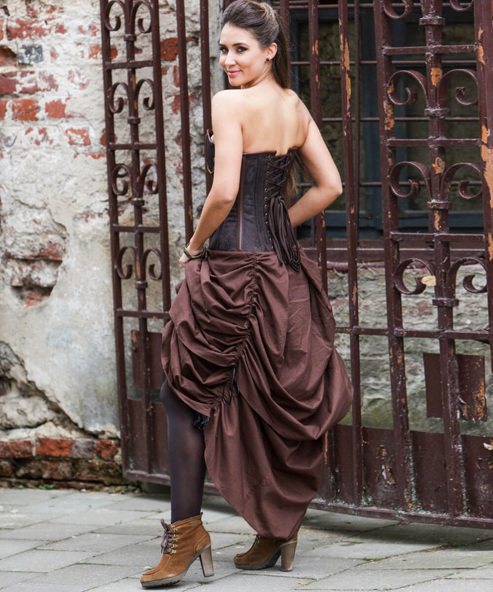 Rocco Steampunk Drawstring Custom Made Corset Dress