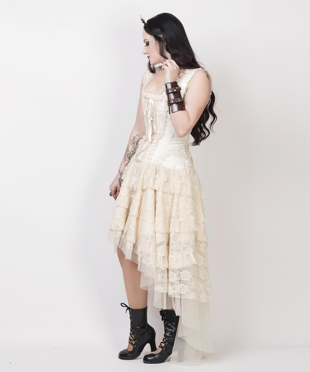 Lachie Victorian Inspired Custom Made Corset Dress