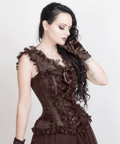 Clarette Victorian Inspired Custom Made Corset